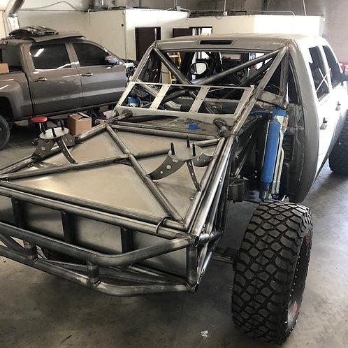 Back Half Trunk w/ Aluminum Insert