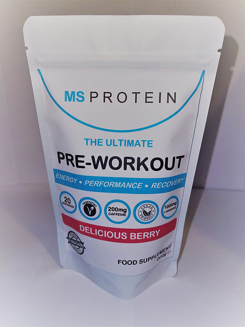 The Ultimate Pre-Workout