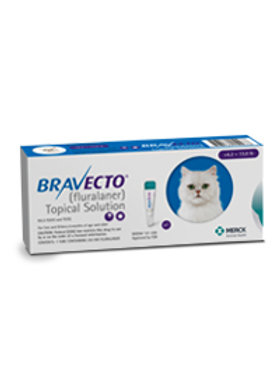 Bravecto Spot on Small Cat 6.2 - 13.8 lbs (BLUE)