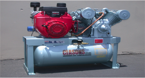 Gas Engine Air Compressor