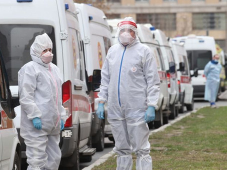 Russian coronavirus cases leap to third highest in world behind the US and Spain