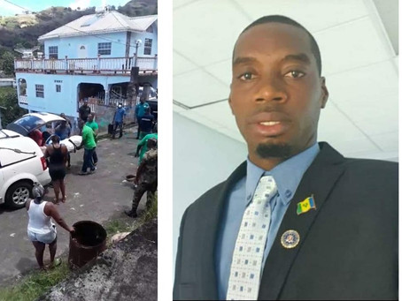 St Vincent: Police officer shot and killed while trying to serve a warrant