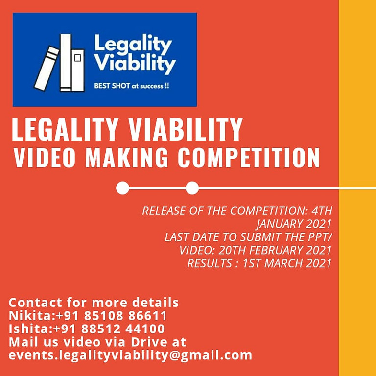 Video Making Competition