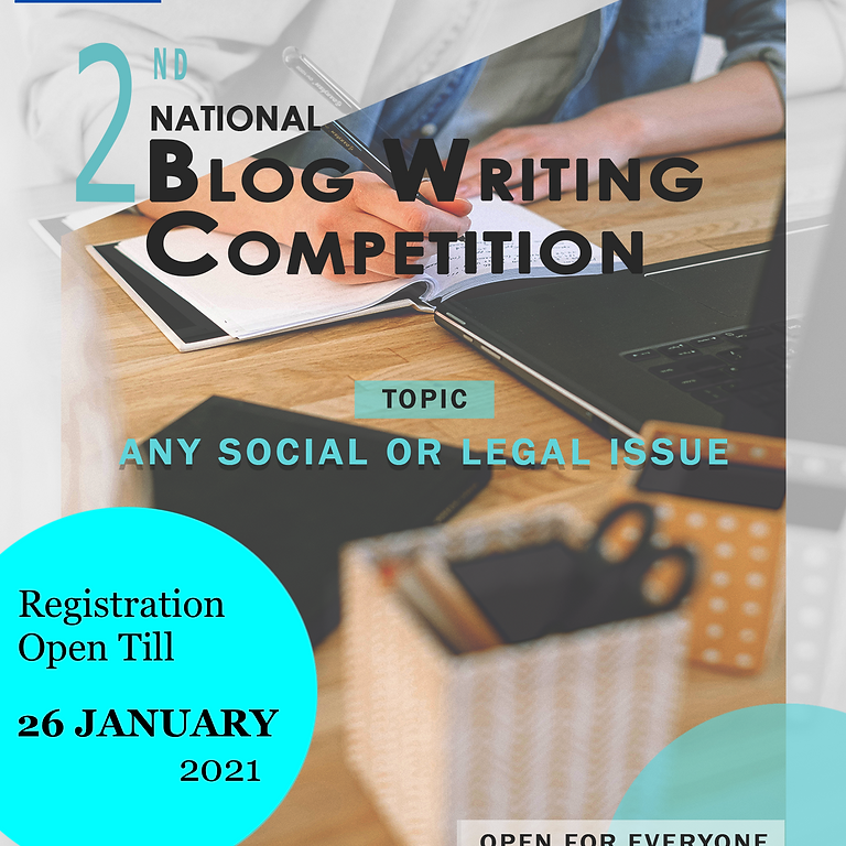 2nd National Blog Writing Competition by Legality Viability