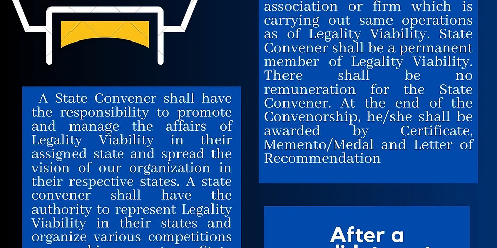 Call For State Convener