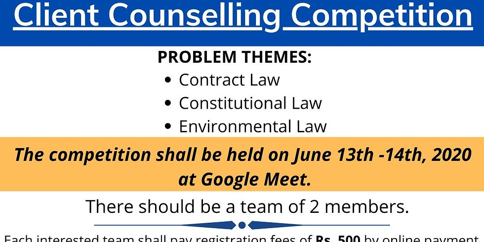 Client Counselling Competition