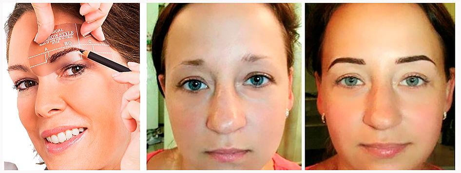 Augenbrauenkorrektur permanent