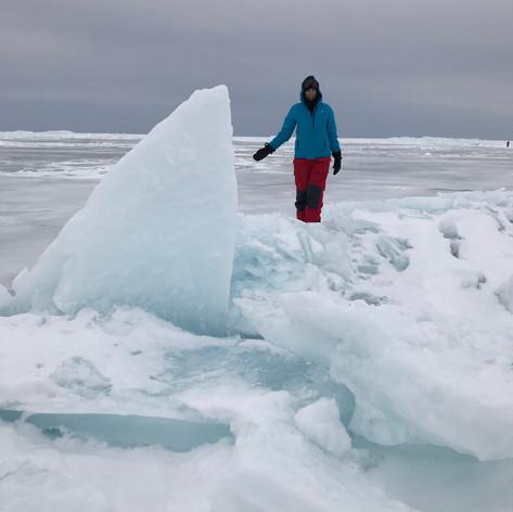 Ice heave