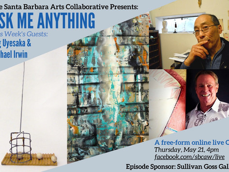 Ask Me Anything Interview Series Features Funk Zone Arts & Culture Figures