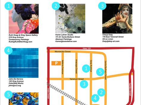 Funk Zone Art Walk: Artist Spotlight