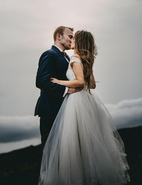 Klimatyczny plener ślubny za granicą