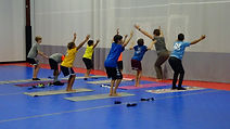 Yoga Training at Global Football School