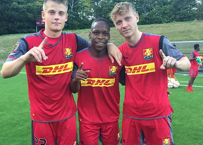 Global Football School sends players to education in Denmark