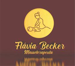Massoterapeuta Flávia Becker
