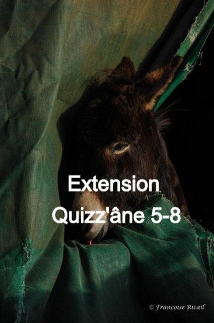 Extension Quizz'âne 5-8 ans