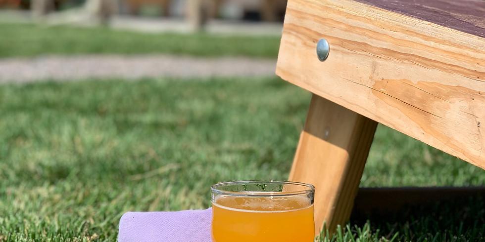 Beer Garden Game Equipment Reservation