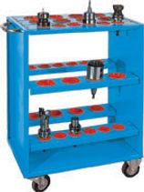 CNC TAKIM DOLABI : HAREKETLİ CNC TUTUCU SEHPASI