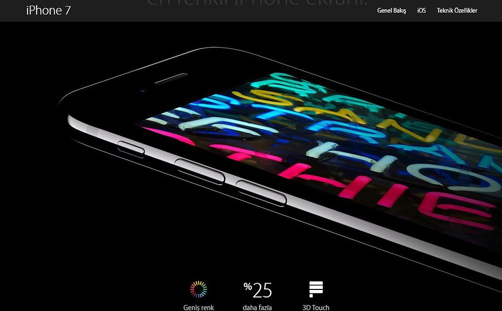 iphone7özellik