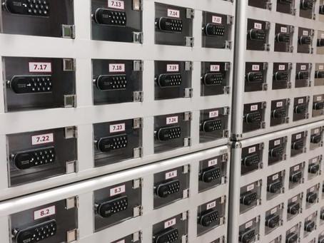 Elektronik Kilitli Cep Telefonu Dolapları