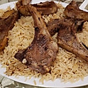 Grilled Lamb Chops Platter