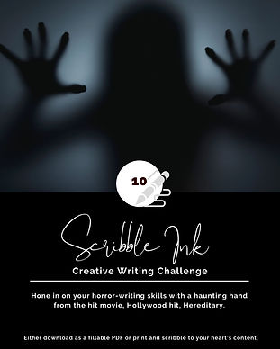 Creative Writing Challenge, 10, Spooky S