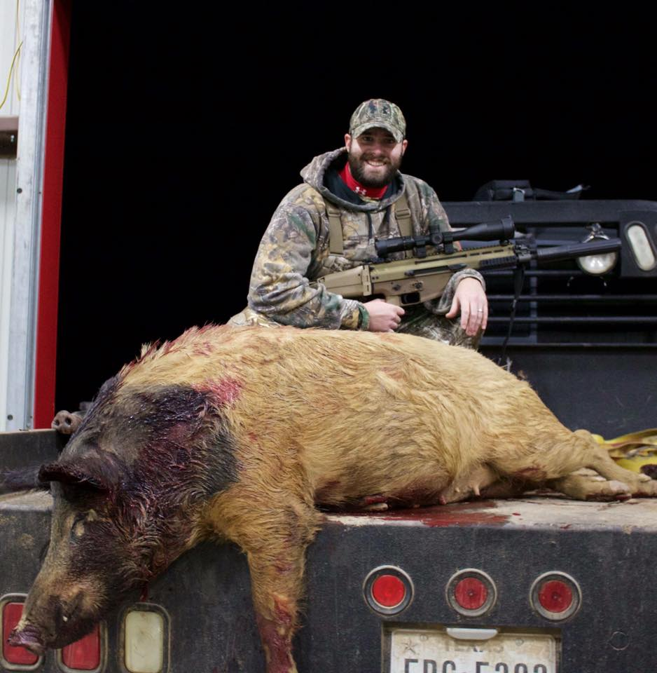 Heflin Ranches Hog Hunting