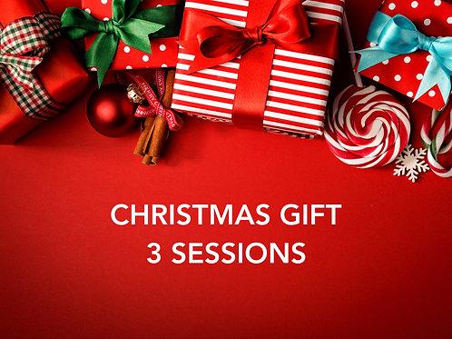 Christmas Gift - 3 Sessions