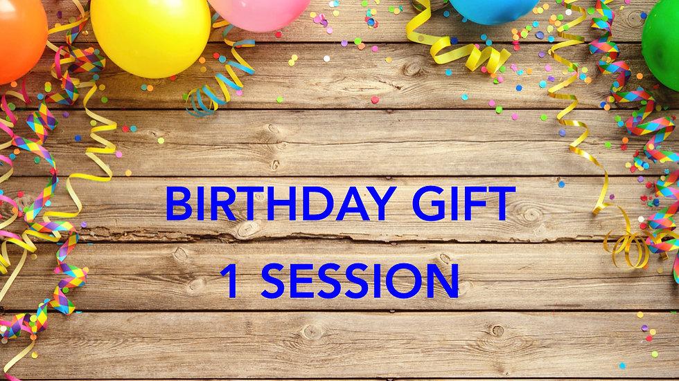 Birthday Gift - 1 Session