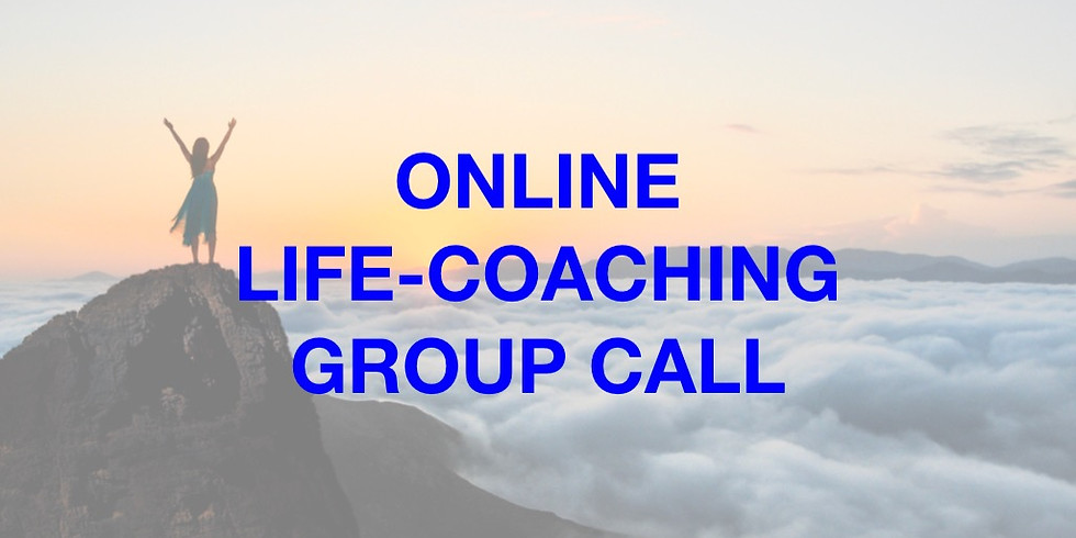 Online Life-Coaching Group Call