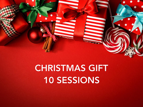 Christmas Gift - 10 Sessions