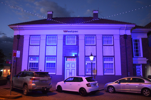 Illuminate Armidale 2019 - Westpac Building