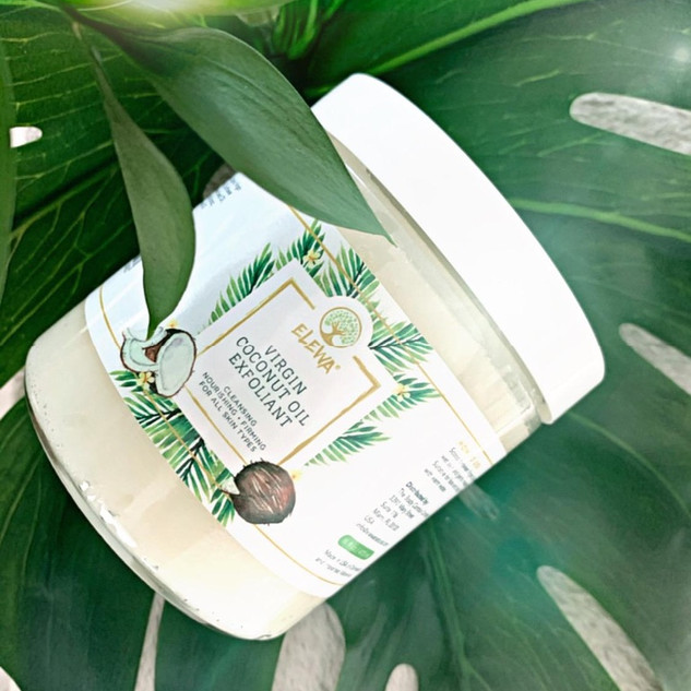 Virgin Coconut Oil Exfoliant