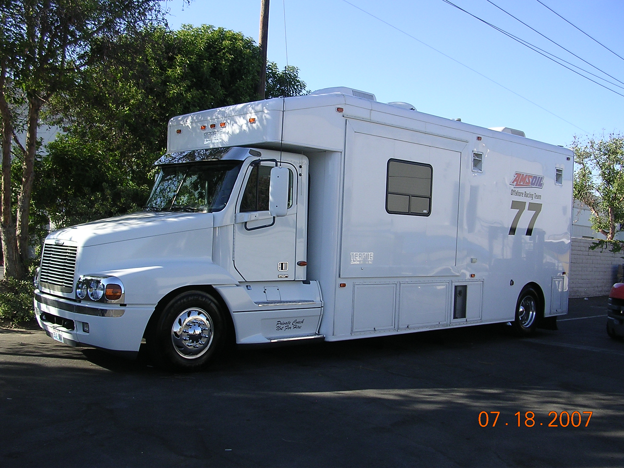 Recreational Vehicle Detailing