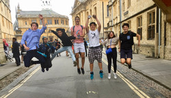 Jumping in Oxford