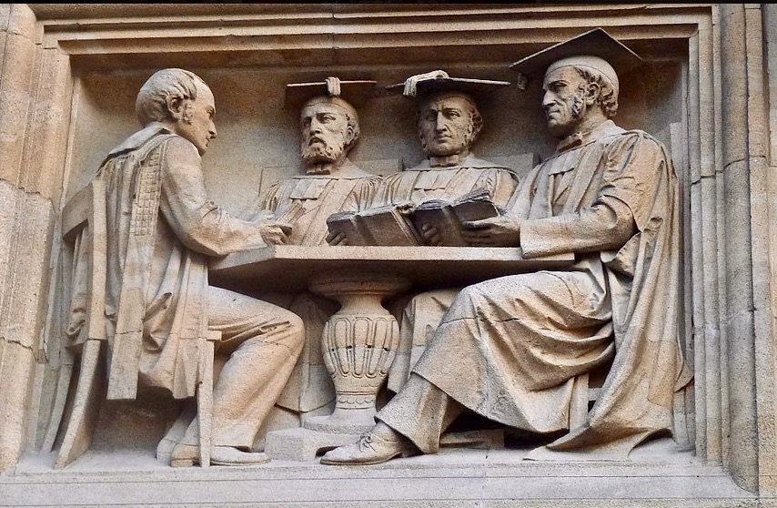 Bodleian Library statues