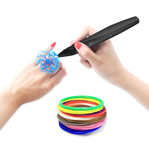 The Black, High Temperature, Touch Screen 3D Pen
