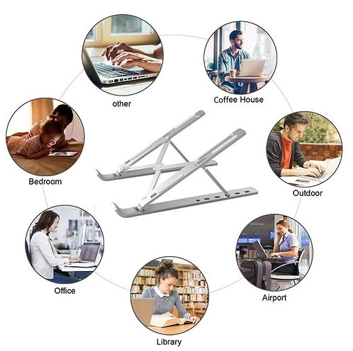 Laptop Stand, Adjustable Portable Laptop Holder for Desk