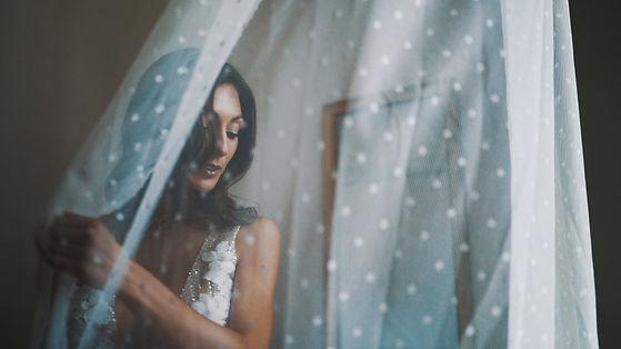 robe de mariée filmée par videaste de mariage