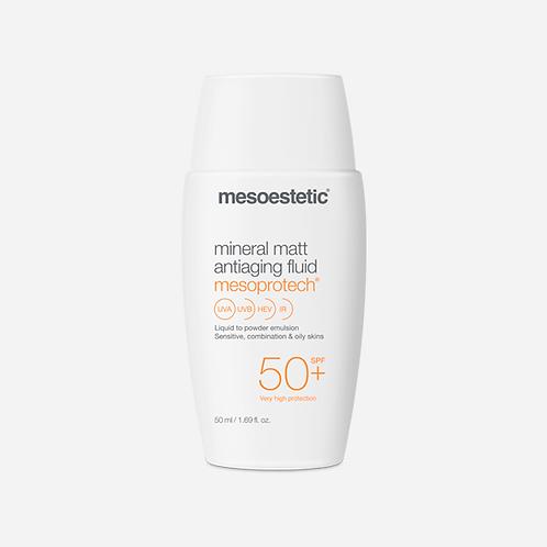 Mesoestetic   Mineral Matt Antiaging Fluid 50+