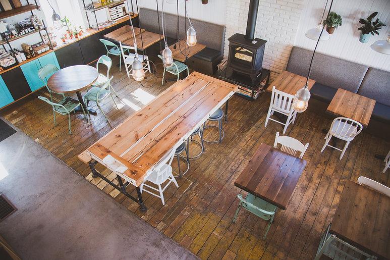 Rendu, Café St-Laurent, Design, Boucherville, Café, Restaurant