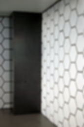 acier, alvéole, acier vernis, stratifié, blanc et noir, cuisine, comptoir, dosseret