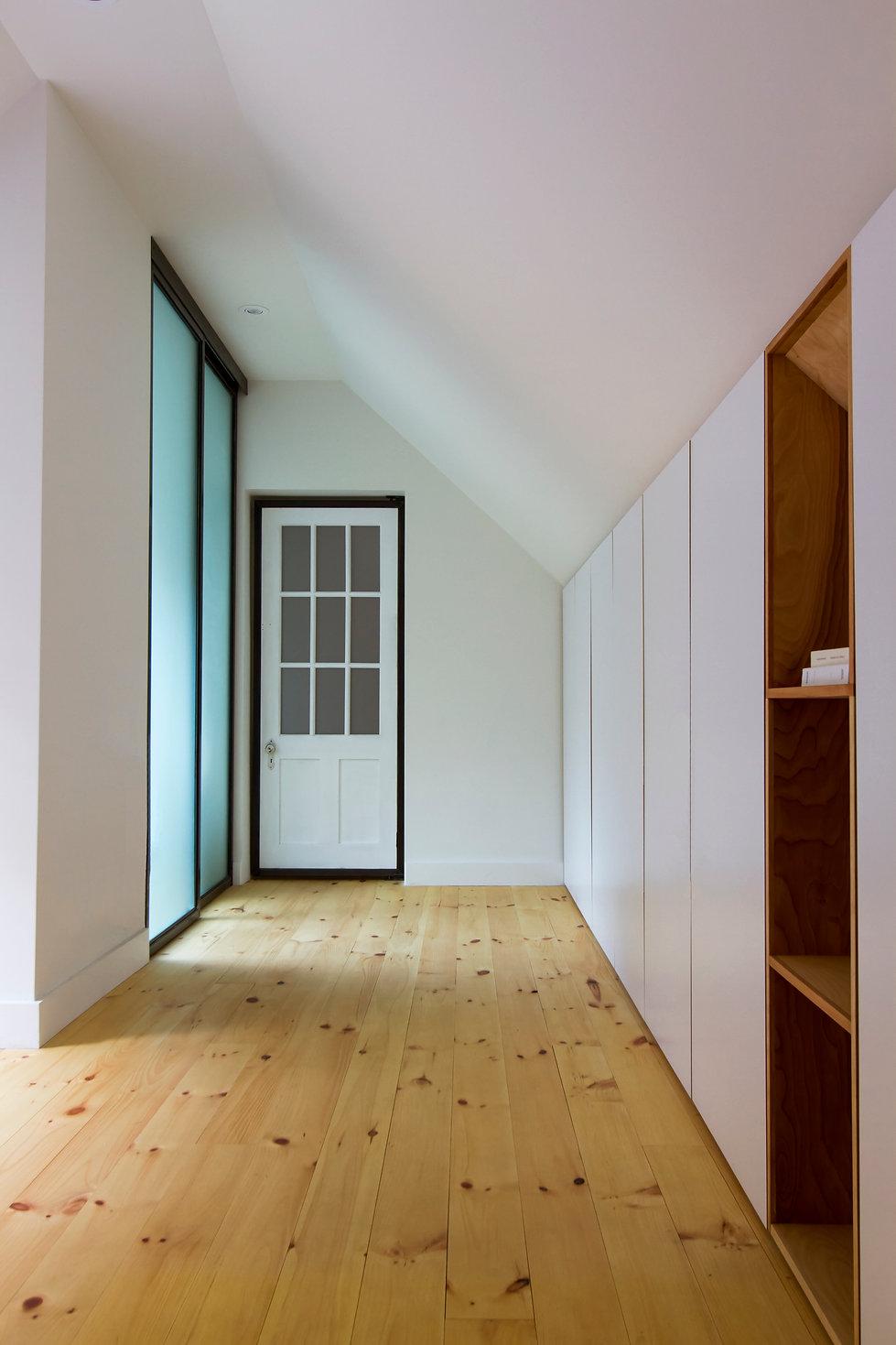 Projet de réhabilitation architecturale L'Eau Vive à Barnston-Ouest par FÉLIX & Co.