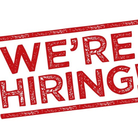 We're looking for talent to join our team!