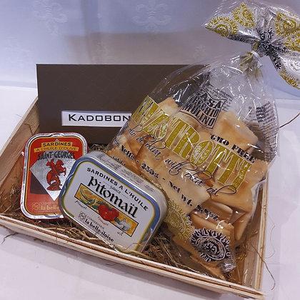 Crack sardine + cadeaubon 75 €