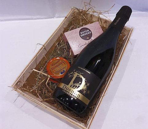 champagne noir en vis