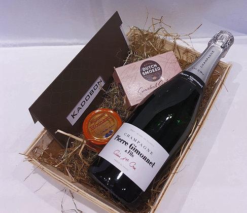 champagne en vis + cadeaubon 50 €