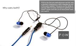 POW Dual Headphones
