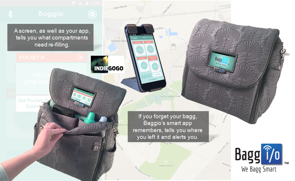 Smart Diaper Bag
