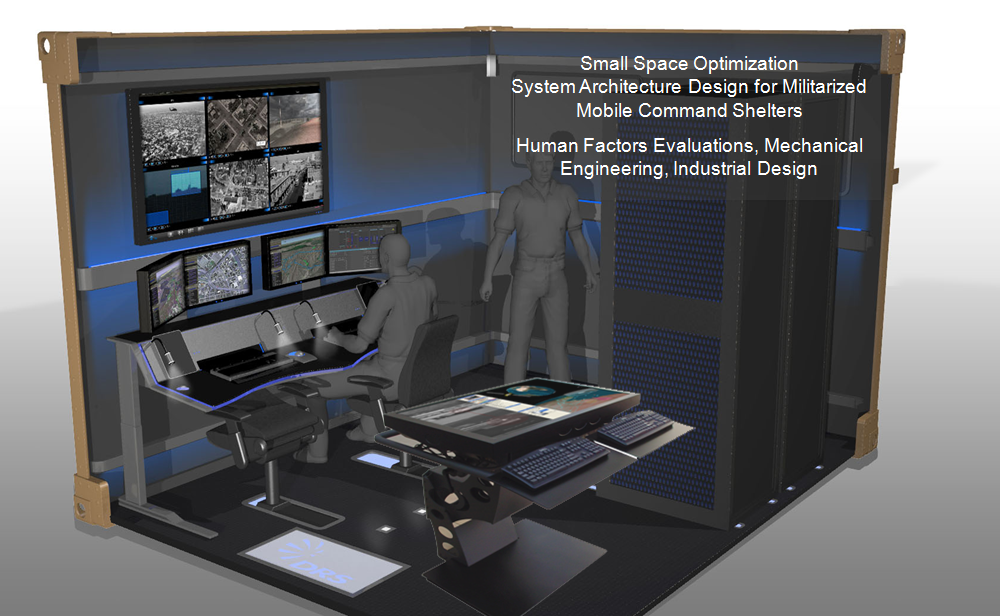Mobile Command Shelter Integration