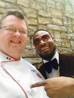 Forti with D'banj at The Palazzo